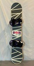 Burton Dominant 154cm Twin-Tip Freestyle Snowboard w/Mission Bindings Large