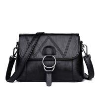 Vegan Leather Shoulder Bag Women Designer Handbags Luxury Messenger Bags Purse