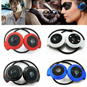Bluetooth Headphones Wireless Neckband Headset Stereo Earphones for iOS Samsung