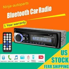 12V 1DIN Car Stereo Fm Radio MP3 Player Audio Support Bluetooth Phone With USB