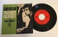 BOB DYLAN / Positively 4th Street 2011 MONO 45 w/ PS / Mint Unplayed