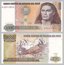 Peru 500 Intis 1987 p134b unz.