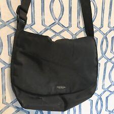Vintage Kate Spade New York Nylon Messenger Bag 90s Crossbody Purse Laptop Black