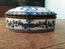 Meissen Porcelaine Zwiebelmuster Oignon Bleu Rare