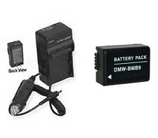 Battery + Charger for Panasonic DMC-FZ45EF DMC-FZ45K DMC-FZ48K DMC-FZ150