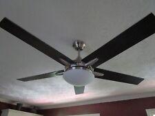 Casa Endeavor Black-Cherry Teak Blades 52' Ceiling Fan