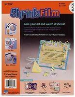 Grafix - Shrink Film (black)