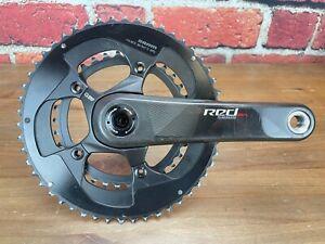 SRAM Red Quarq Ready 165mm Carbon Crankset 50/34T 11-Speed Road Bike 110BCD 637g