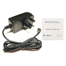 CubePlug Power Supply for 12V 2A Satlink WS6906 WS-6906 Signal Finder Kj