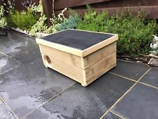Small Animal/ferret/Hedgehog House Wooden Handmade Hibernation Home