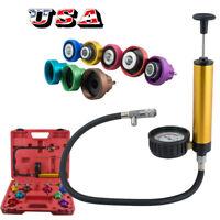 Auto Radiator Pressure Tester Leak Detector Cooling System Coolant Vacuum Pump