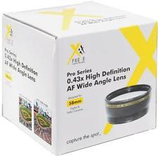 Xit 58mm 0.43x Wide Angle Lens For Sony DSC-F828 DSC-F717 DSC-F707 DSC-H10 H5 H2