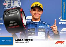 ➠ Topps Now Formula 1 #58 Lando Norris - McLaren F1 Team (PreOrder)