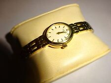 Rotary LB77896-BR-08 Women's White Swarovski Crystal Ivory Gold Ion Plated Watch
