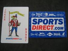 Joker No 119. Sports Direct. Single Playing Card