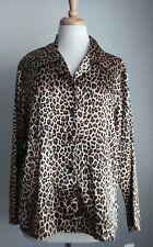Fredericks Of Hollywood Women's Sleepwear Animal Print Set Sz M