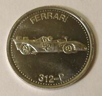 Hot Wheels Ferrari 312-P Shell Coin '72 Premium Hotwheels