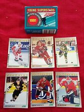 1991 Score Young Superstars Hockey Complete Set New Mint Federov Jagr