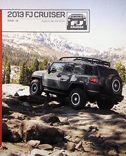 2013 Toyota FJ Cruiser SUV new vehicle brochure