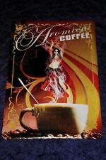 10 x Blechschild Aromica Coffee  20x30 cm  Kaffee Cafe - Sonderposten