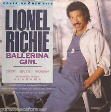 "LIONEL RICHIE - Ballerina Girl (UK 2 Tk 1986 7"" Single PS)"