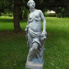 """Statue """"Frau mit Rosenstock"""" (klein) , Skulptur, Garten"""
