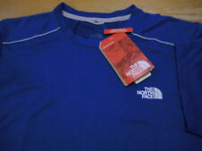 "North Face ""Reactor� Mesh-Panel Performance T-Shirt, Nwt - Mens L - Turkish Blue"