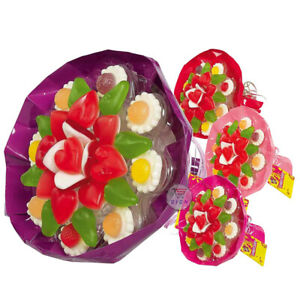 LOOK-O-LOOK – CANDY SWEET LOVELY BOUQUET FLOWER GIFT- 145G FRESH STOCK