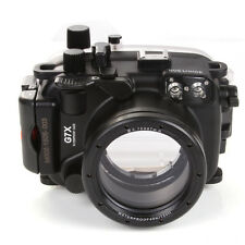 NEW 40M/130FT Waterproof Underwater Camera Housing Case for Canon PowerShot G7X