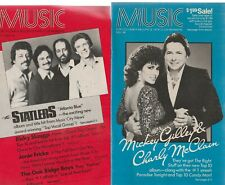 Music Magazine, For Columbia Record And Tape Members, 4 1984 Issues