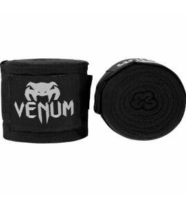 Lot of 2 Venum Kontact 2.5m Elastic Cotton Protective Boxing Handwraps -Pink/Blk