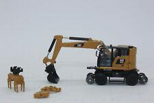 Pelle sur Rail Caterpillar M323f Dcm85656 Échelle1/87 Diecast Masters