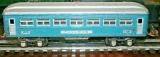 Lionel Prewar 1630,1630 Pullman Cars and 1631 Observation Car FOR PARTS OR RESTO