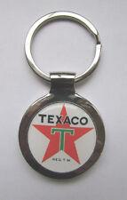 Texaco Gas Key Chain, Texaco Gasoline Logo Keychain, Texaco Keychain