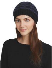 Aqua Beanie Hat Cream Embellished Cuffed Women/'s One Size NWT $32.00