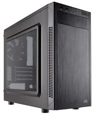 Corsair Carbide 88R Micro ATX Gaming Case Quiet Mid Tower Side Panel Window..