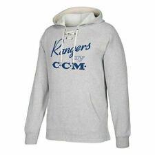 CCM Adidas Mens New York Rangers Centennial Pullover Hoodie Sweatshirt Size XXL