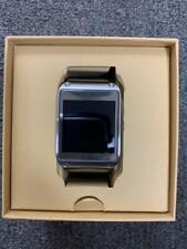 Samsung Galaxy Gear 41mm Stainless Steel Case Jet Black Modern Buckle