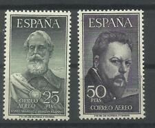 SELLOS ESPAÑA 1953 EDIFIL 1124/25 - LEGAZPI Y SOROLLA - mnh sin charnela lujo