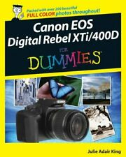 Canon EOS Digital Rebel XTi/400D For Dummies (... by King, Julie Adair Paperback