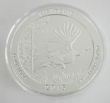 2015 5 OZ AMERICA THE BEAUTIFUL KISATCHIE NATIONAL FOREST UNC SILVER ROUND