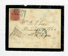 Mourning Cover Boer War Transvaal To St. Helena POW 1900 Rare!