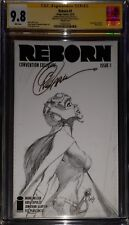 "Reborn 1 NYCC Sketch ""The Collection of Capullo"" CGC SS 9.8 sig Capullo NETFLIX"