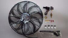 THERMO FAN CHROME 16 INCH REVERSIBLE 220 WATT MOTOR INC  FAN CONTROLLER