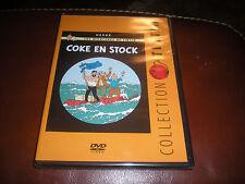 DVD COLLECTION TINTIN COKE EN STOCK - NEUF SOUS BLISTER