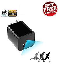 1080p HD USB Spy Camera UX-6 Scoutout DVR Charger Surveillance Genuine CIA FBI