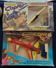Vintage Stanzel Electromic Copter & Space Kraft Shooting Star Brand New In Box
