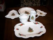 "Pfaltzcraft Dinnerware ""Christmas Heritage ""Serving Pieces"
