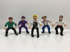 Vintage 1990 Playmates Dick Tracy Action Figures Lot of 5 Original
