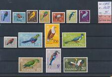 LN59412 Uganda 1965 birds animals fine lot MNH cv 95 EUR